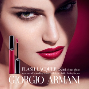 Giorgio Armani Introduces NEW Flash Lacquer