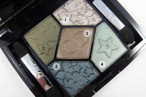 Dior 5 Couleurs Mystic Metallics Eyeshadow Palette in 384 Bonne Ètoile