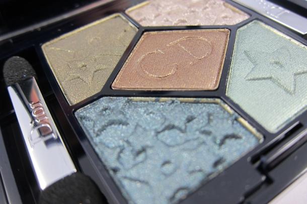 Dior 5 Couleurs Mystic Metallics Eyeshadow Palette In 384 Bonne Étoile (4)