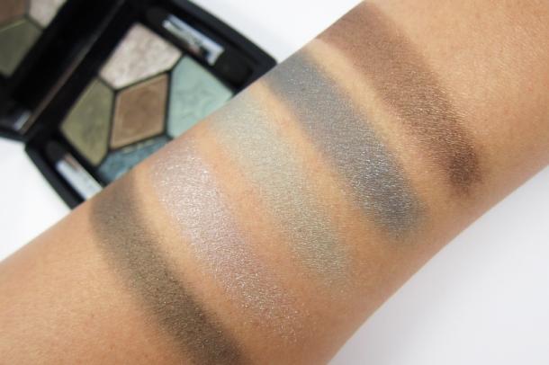 Dior 5 Couleurs Mystic Metallics Eyeshadow Palette In 384 Bonne Étoile (6)