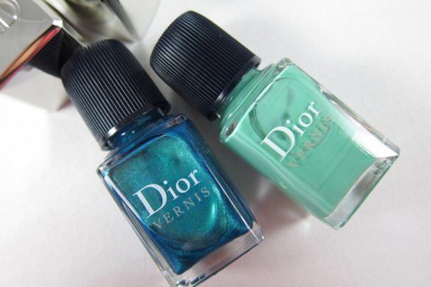 Dior Bird Of Paradise Summer Nail Lacquer Duo For Tips & Toes in 001 Samba (1)