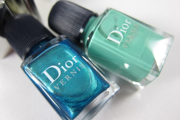 Dior Bird Of Paradise Summer Nail Lacquer Duo For Tips & Toes in 001 Samba (2)