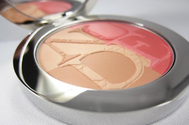 Diorskin Nude Tan Paradise Duo Iridescent Blush & Bronzing Powder in 001 Pink Glow (1)