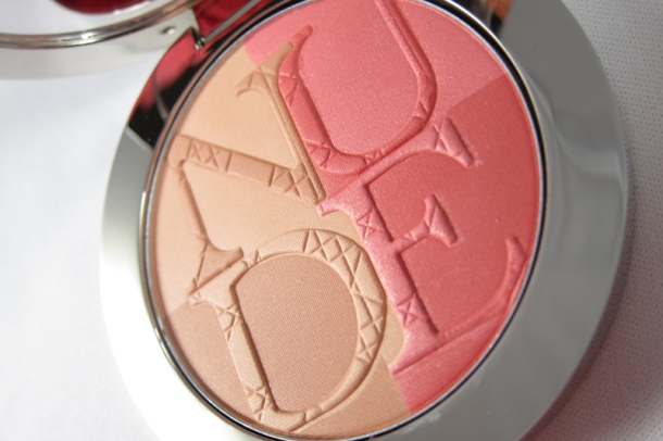 Diorskin Nude Tan Paradise Duo Iridescent Blush & Bronzing Powder in 001 Pink Glow (2)