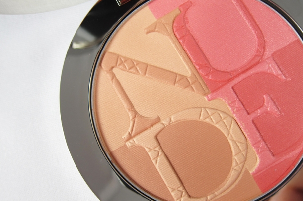 Diorskin Nude Tan Paradise Duo Iridescent Blush & Bronzing Powder in 001 Pink Glow (3)