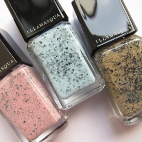 Illamasqua Nail Varnish In Fragile, Scarce & Freckle