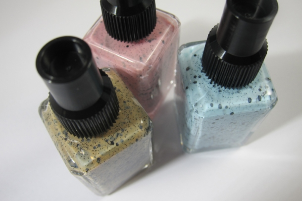 Illamasqua Nail Varnish In Fragile, Scarce & Freckle  (9)