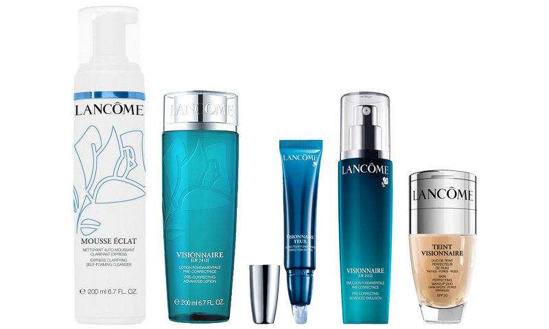 lancome combination skin products