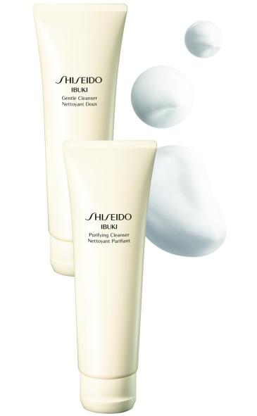 Shiseido IBUKI Gentle Cleanser & Purifying Cleanser