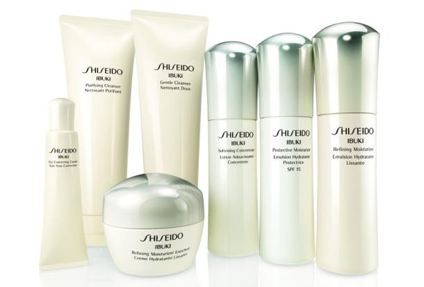 Shiseido IBUKI Range