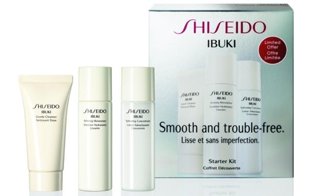 Shiseido IBUKI Starter Kit