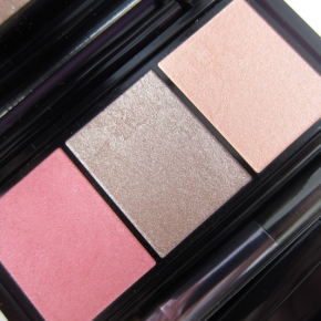Shiseido Luminizing Satin Eye Color Trio In RD 711 PinkSands