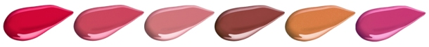 Shiseido NEW Lacquer Rouge - Swatches