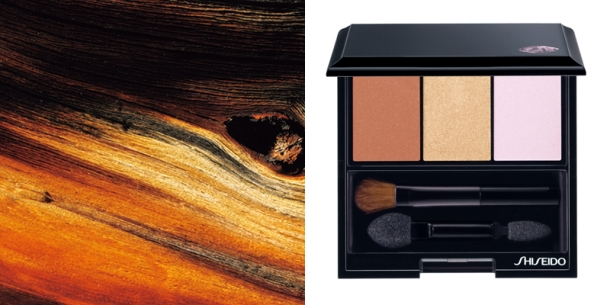 Shiseido NEW Luminizing Satin Eye Color Trio - Into The Woods
