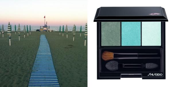 Shiseido NEW Luminizing Satin Eye Color Trio - Lido