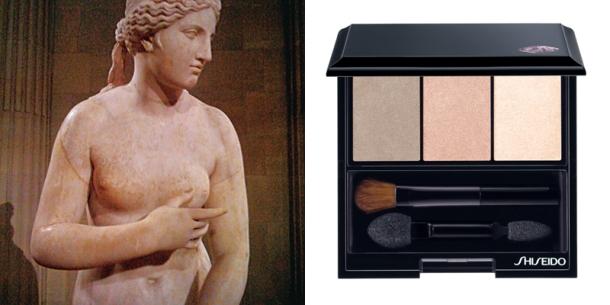 Shiseido NEW Luminizing Satin Eye Color Trio - Nude