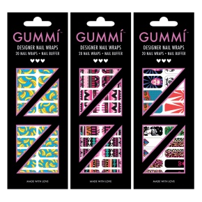 Introducing Singapore-based Designer Nail Wrap Label – GUMMÍ Nails