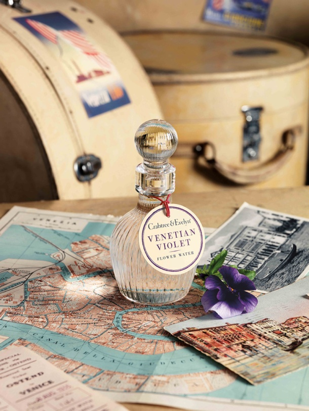 Venetian Violet Flower Water Mood Shot (100ml), $88
