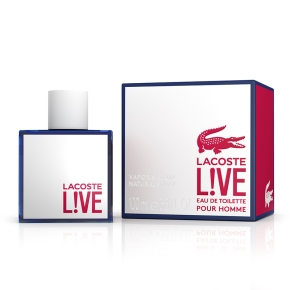 Introducing Lacoste L!ve – New Fragrance. New Perspective